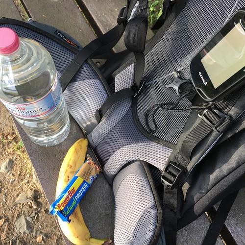 """Meine erste Zwischenmahlzeit ›› 20 km Runde: """"Rundtour um das versunkene Dorf Pöhl""""  #frankwandert  #running66  #Outdoor  #Hiking  #Garmin  #Oregon750t  #fēnix3  #BeatYesterday  #Plauen  #Talsperre  #Pöhl  #TalsperrePöhl"""