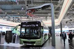 IAA 2016 - MAN Lion's City Electric (Riccardo Borlenghi) Tags: man lion city electric emobility future trolleybus pantograph brt public transport