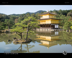 Golden Palace Kyoto (tomraven) Tags: golden goldenpalace palace lake reflection water trees tomraven aravenimage q42016 nikon1 v2