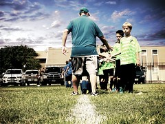 Good game {268/366} (therealjoeo) Tags: soccer game sports field handshake highfive 365 365project 366
