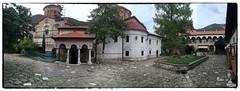 Bachklovo monastery (imagek) Tags: bachklovo monastery bulgaria plovdiv building architecture iphone pano