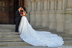 The Kiss (Trish Mayo) Tags: brideandgroom bride wedding weddingdress riversidechurch church