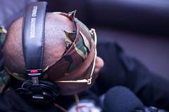 Bandana P (Brotha Chris) Tags: 50mm canon nyc culture city hiphop explore explored feature featured main podcast studio rap prodigy mobb deep queens queensbridge infamous album hnic cookbook prison portrait bandanna