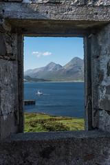 Raasay old mine window view (Islandhopper74) Tags: raasay skye scotland peterowbottom landscape neistpoint elgol scottishisles uk dramatic