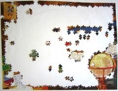 The Library (Joseph Burgess) (Leonisha) Tags: puzzle jigsawpuzzle unfinished