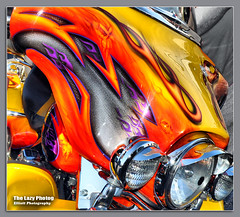 Aug 8 2016 - Beautiful Sturgis rainbow (lazy_photog) Tags: lazy photog elliott photography harley davidson custom paint rainbow colors sturgis south dakota motorcycle rally races black hills 080816sturgisdaythree