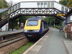 43088 Bodmin Parkway (Marky7890) Tags: gwr 43088 class43 hst 1c81 bodminparkway railway station cornwall train