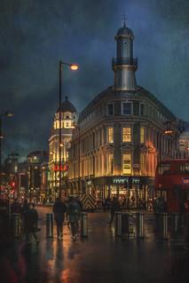 London, King's Cross square