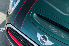 DSC_9391.jpg (duffage2) Tags: 2016 35mm18 badge bonnetvents coopers d7100 detailshot edinburghwatchcompany f56 jcw johncooperworks may may2016 mini newlanarkshirecollege nikon stripe stripes tartantarmac vents