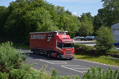 EXZ 5341 - Surefreight Ireland - Newry County Down (Jonny1312) Tags: lorry truck scania scaniar420 maghera tobermore newry londonderry
