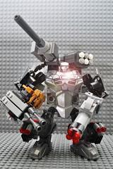 War Machine Exo Suit - MKII ([ I ] RENNER) Tags: warmachine ironman ironexosuit marvel machine minifigs minifigure superherominifigs superhero