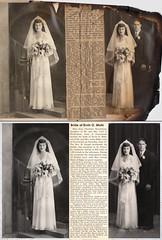 Wedding photos (restoration) (bruna_guerreiro) Tags: restorations damaged memories wedding oldschool