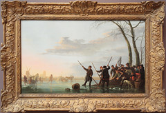 fishing under the ice on the maas (1600 Squirrels) Tags: 1600squirrels photo 5dii lenstagged canon24105f4 artmuseum museum legionofhonor presidio sanfrancisco sanfranciscocounty sfbayarea nocal california usa painting aelbert cuyp