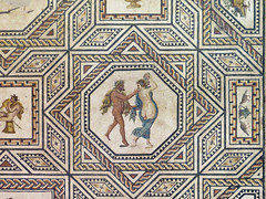 IMG_5804 (jaglazier) Tags: 2016 220230 220ad230ad 3rdcentury 3rdcenturyad adults animals bacchic barechested bearded beards birds cologne copyright2016jamesaglazier dionyseus dionysos dionysus geometric geometricdesigns germany grecoroman guilloche koln kln men museums mythical naked portraits religion rituals roman romangermanicmuseum rmischgermanischesmuseum satyrs september vases women archaeology art barefoot braided cloaks crafts dancing lozenges mosaic nude octagonal octagons pigeons restored stars