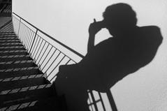 fotografo ombra (pamo67) Tags: photographershadow pamo67 ombre shadows proiezioni projections uomo man scala stair gradini steps bn bw blackwhite monochrome pasqualemozzillo