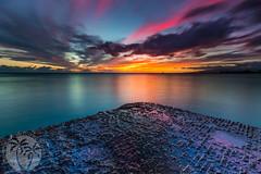 Waikiki Sunset (brandon.vincent) Tags: waikiki honolulu sunset hawaii color reflection