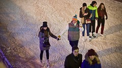 IMG_4432 (ermakov) Tags: gorkypark icerink winter snow boy girl people color m24 streetartkatok
