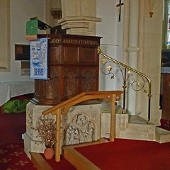 Bathford, Somerset, St Swithun (Tudor Barlow) Tags: bathford somerset somersetchurches england churches parishchurch listedbuilding gradeiilistedbuilding churchinteriors autumn lumixfz200