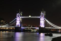 Tower Bridge by Night (Kraf T Photography) Tags: riverthames towerbridge bridge london