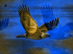 Sevdann gkyzne kanatIanm haIidir kuIar.   #photography #bird #eagle #edit #art #collage #women #face #effect #pencilart #guaj #popart #artwork #dream #fantastic #surreal #freeart #photodesign #edited #illustration #poster #people #artpeople #artpeo (mrbrooks2016) Tags: illustration effect face dream artwork guaj art edit surreal fantastic artpeoplegallery stepbystep freeart collage editedphoto eagle photography bird popart edited photodesign pencilart poster editedstepbystep women artpeople people
