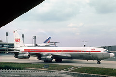N760TW Boeing 707-331B TWA Trans World Airlines (pslg05896) Tags: n760tw boeing707 twa transworldairlines cdg lfpg paris roissy