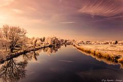 Werra im Winter (snapshot156) Tags: winter eschwege sunset sun light cold hessen germany winterwonder winterwonderland cool color nature shine