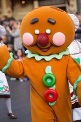 A Christmas Fantasy (jodykatin) Tags: achristmasfantasy acf parade disneyland gingerbreadman cookie