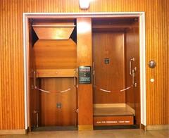 Frederiksberg Rådhus (1953) - paternoster lift (annindk) Tags: frederiksberg townhalls lifts