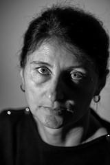 Maria (drugodragodiego) Tags: maria portrait ritratto biancoenero blackwhite blackandwhite bw pentax pentaxk1 k1 pentax100mmmacro smcpentaxdfamacro100mm128wr pentaxdfamacro100mm