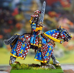 Hidden Helm Questing Knight Right Small (seaottre68) Tags: citadel 5th edition metal warhammer age sigmar questing knight rare hidden helm bretonnia bretonnian order mounted games workshop barded warhorse