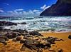 Makapu'u Beach Pumpin' (jcc55883) Tags: makapuu makapuubeach makapuupoint ipad ipadair waimanalo hawaii oahu ocean surf shore pacificocean sky clouds