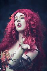 Autumn Poison Ivy (Fotografreek) Tags: autumn poison ivy cosplay cosplayer elfia elfia2016 elfiaarcen fantasy hair red redhead