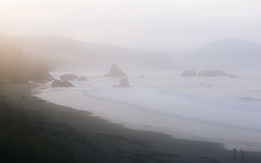 Another Day (John Westrock) Tags: mist haze oregon beach shore morning waves pacificocean pacificnorthwest canoneos5dmarkiii canonef2470mmf28lusm nature