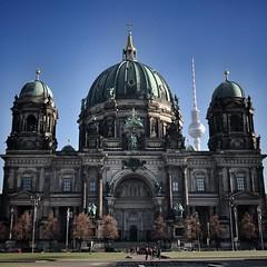 Berliner Dom #Berlin #Mitte #Lustgarten #Museumsinsel #TvTower #Fernsehturm (dwithadotn) Tags: berlin mitte lustgarten museumsinsel tvtower fernsehturm