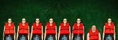 Women and Children First (Studio d'Xavier) Tags: werehere terroroftheautonsmannequins womenandchildrenfirst mannequins showgirls lifejackets 365 november162016 321366
