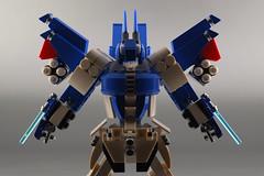Lego Seraph 04 (guitar hero78) Tags: lego moc mecha mech robot toys fujifilm xe1 60mm fujinon