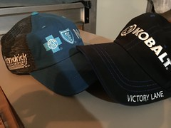 Ford EcoBoost 400 - Victory Lane Championship Hats (S. Feldman) Tags: ford ecoboost 400 victory lane championship hats nascar henderick motorsports kobalt lowes racing