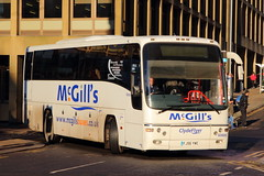 McGill's Panther (G0606) (Fraser Murdoch) Tags: mcgills bus services service ltd greenock gourock glasgow largs braehead dunoon george square mercedes benz citaro g3345 bv66gwk bv66 gwk plaxton panther volvo b12b gibson direct executive 901 906 907 clyde flyer clydeflyer depot g0606 0606 3345 fj56 ywe fj56ywe canon eos 650d transport coach photography fraser murdoch winter light sun