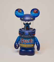 Stitch's Great Escape (Jared Circusbear) Tags: mickey mouse vinyl vinylmation vinyltoy custom toy art painting sculpture miniature urban collectible figure figurine disney walt handmade actionfigures fanart munny dunny kidrobot popvinyl popart funko disneyana stitch great escape alien tomorrowland space scifi lilo