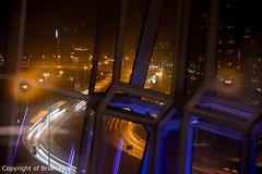 _IMG4342 (acornuser) Tags: iceland europe city lanscape cityscape architecture building glass modern light night sky water reflection pentaxk3 sigma1770 bw blackandwhite sculpture harpa lighttrail viking reykjavik