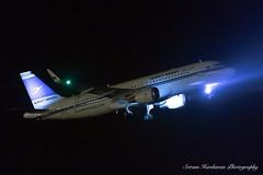 9K-AKK Kuwait Airways Airbus A320-214(WL) - cn 6538 (Sri_AT72 (Sriram Hariharan Photography)) Tags: kuwait international airways ku kac 354 tashalah bengaluru airport bial blr vobl kia kempegowda plane spotting aviation photography passion night airside november 2016