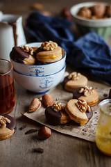 IMG_3935_exp (Helena / Rico sin Azúcar) Tags: galletas cookies nueces nuts walnut naranja orange almendra almond chocolate vanilla vainilla mantequilla butter dessert food christmas