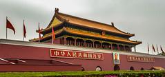 Tiananmen gate (kasiahalka (Kasia Halka)) Tags: 109acres 2016 beijing china citysquare gateofheavenlypeace greathallofthepeople mausoleumofmaozedong monumenttothepeoplesheroes nationalmuseumofchina tiananmensquare