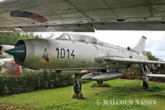 SUKHOI SU-7UM 1014 CZECH AIR FORCE (shanairpic) Tags: museum military preserved zruc czechairforce su7 sukhoisu7