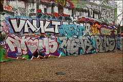 Various... (Alex Ellison) Tags: westlondon urban graffiti graff boobs trellicktower halloffame hof crept cbm vault mear plug 4ce force chrome