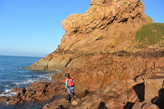 Le Pinacle (Jersey Sea Kayaking) Tags: coasteering jersey leslandes lepinacle