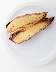 CULINARY, 3/12/2016. Misc: sweet potato, marinade, steak, grilled steak, maintain ingredients, sweet potato recipe, recipe,... (annick vanderschelden) Tags: potato sweetpotato marinade marinadeforsteak ingredients woodencuttingboard food recipe culinary steak marination honey pepper balsamicovinegar soysauce oliveoil mincedgarlic cinnamon cayennepepper dish