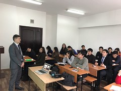 "Lectures delivering on December 5th 2016 on Al Farabi Kazakh National University, Almaty (2) <a style=""margin-left:10px; font-size:0.8em;"" href=""https://www.flickr.com/photos/89847229@N08/31294313592/"" target=""_blank"">@flickr</a>"