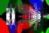 Ventanas (seguicollar) Tags: ventanas ventanal edificios abstracto rojo red rayas líneas verde green fragmento fragmentación virginiaseguí windows abstracción imagencreativa photomanipulación artedigital arte art artecreativo