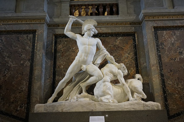 Theseus Fighting the Centaur